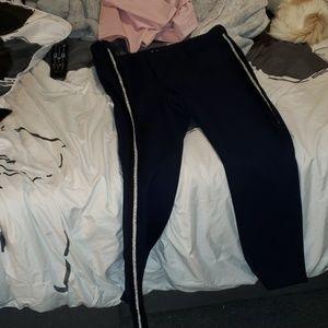 Old navy side stripe pixie pants